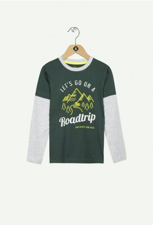T shirt ml 2c montains