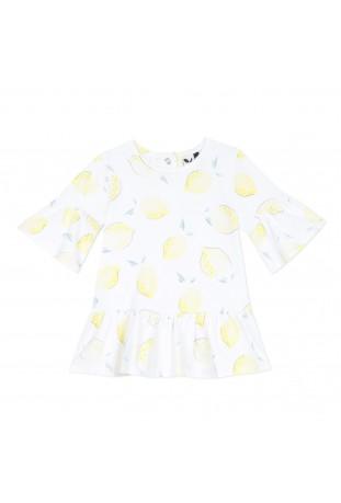Μπλουζάκι λεμόνι κορίτσι