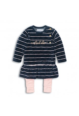 2 pce Babysuit dress DK