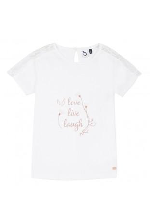 Μπλούζα με κείμενο κορίτσι