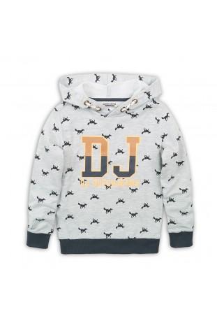 Sweater with hood DJ