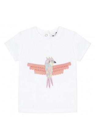 T-shirt λευκό