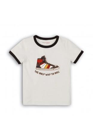 Κοντομάνικο μπλουζάκι ρετρό