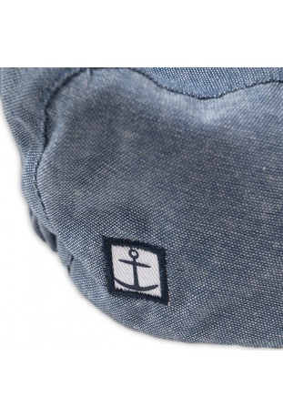 chambray flat cap HATS