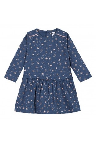 Φόρεμα PRINTED long sleeves