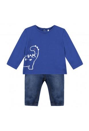 Σετ αγόρι μπλούζα και τζιν