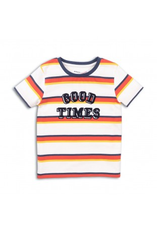 good times stripe t shirt...