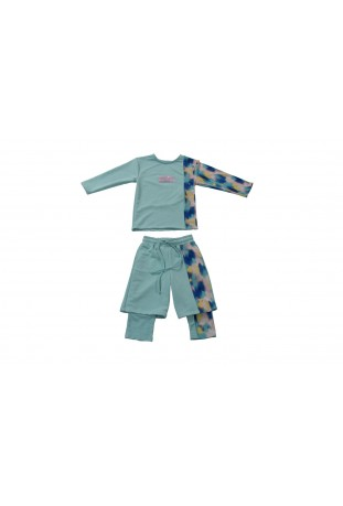 SET 2PCS TOP AND SHORT WITH...