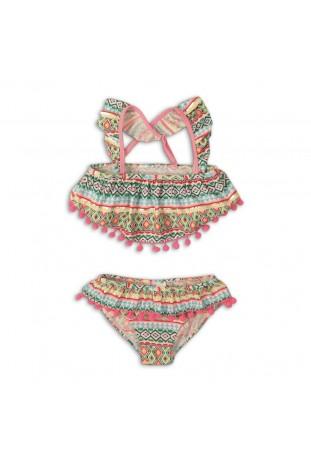 2pc frill detail bikini...