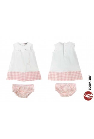 INFANT GIRL SET 2PCS PAG.17