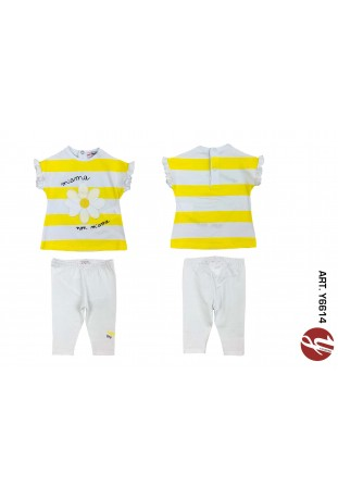 INFANT GIRL SET 2PCS PAG.18