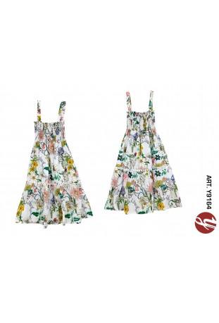 Φόρεμα λουλούδια