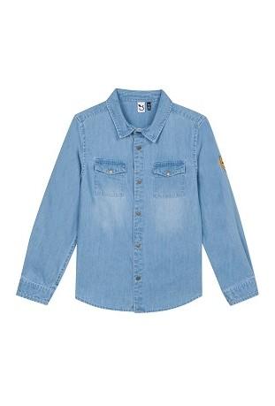 Τζιν πουκάμισο 3P